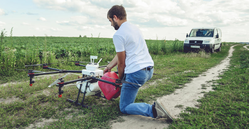 Wie Drohnen und fahrerlose Traktoren den Beruf Landwirt verändern werden