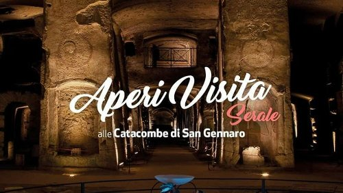 Catacombe di Napoli, ripartono le AperiVisite serali