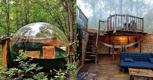 Ce village de bulles est LA place au Québec où aller dormir sous la belle étoile cet été