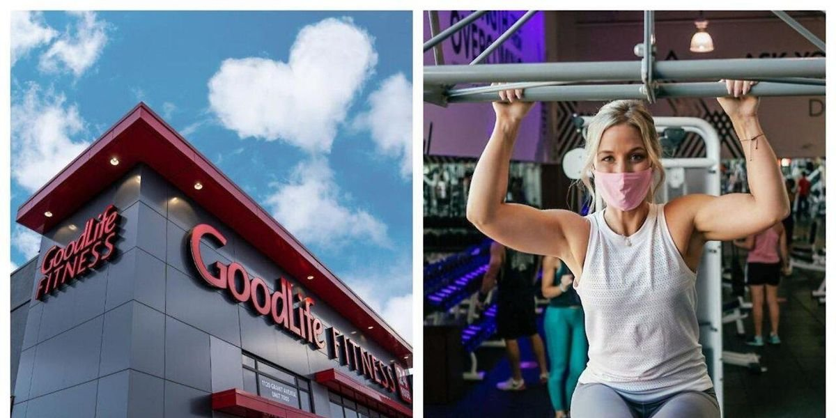 GoodLife Revealed Exactly What Working Out Will Look Like When Gyms Reopen In Ontario
