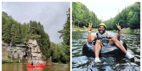 You Can Float Past Towering Cliffs On A Natural Lazy River Near Toronto This Summer