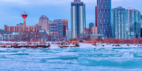 A Horrendous Cold Blast With -50 Temps Is Coming For The Prairie Provinces In December