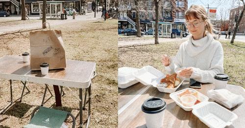Ce resto montréalais a trouvé un moyen d'offrir une terrasse à ses clients dès maintenant