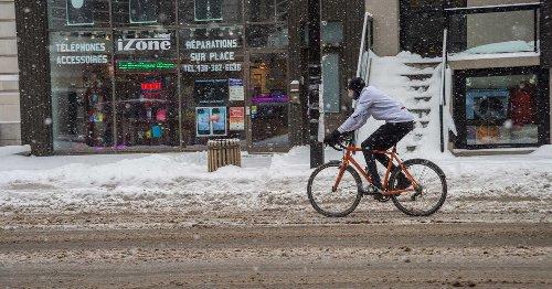 On annonce de la neige à Montréal cette semaine et les degrés vont descendre jusqu'à -2 C