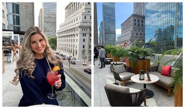 Cette terrasse à Montréal te fera te sentir comme à New York et c'est idéal pour un 5 à 7