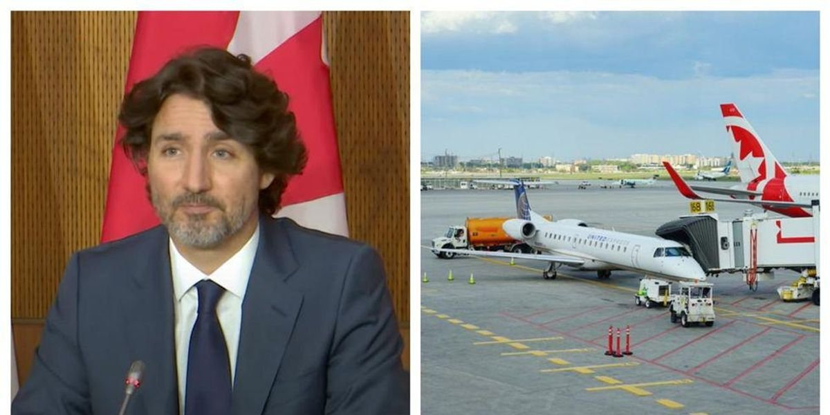 Trudeau Says Restarting Travel Will Be 'Focused On Canadians Who Are Fully Vaccinated'