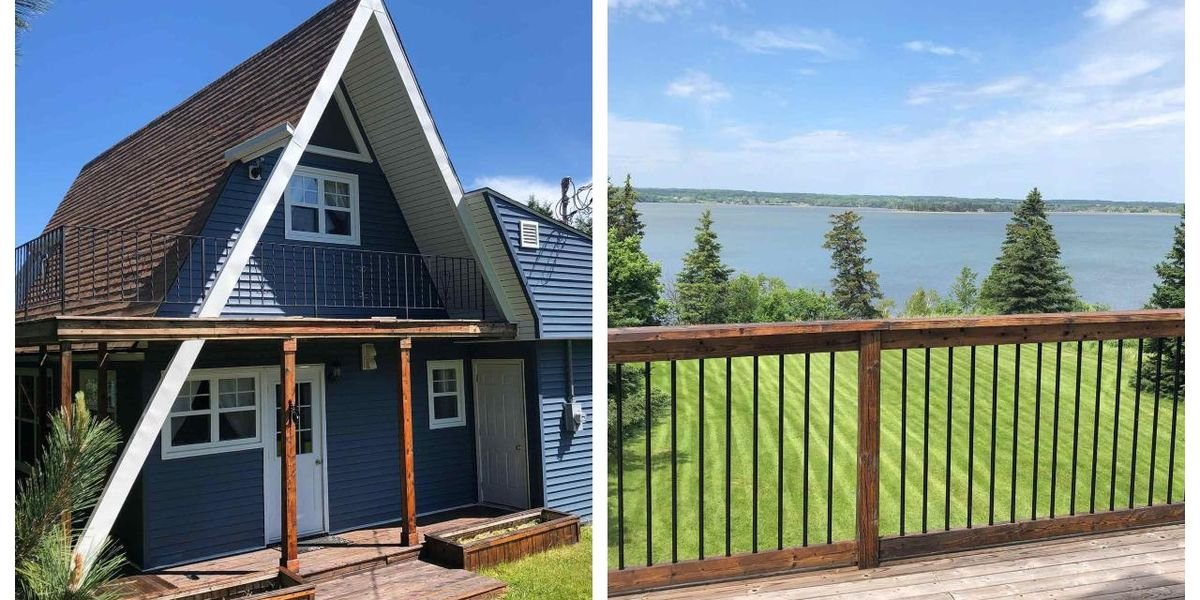 This Gorgeous Nova Scotia Home Has A 3,000 Foot Oceanside Trail & It Only Costs $325K