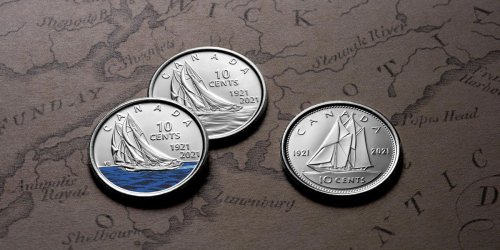 Canada's New Colourful Dime Is Out Now & Here's How You Can Get It