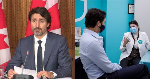 Trudeau Says He'll Get A Vaccine Dose At A Pharmacy Now That AstraZeneca Is For Ages 40+