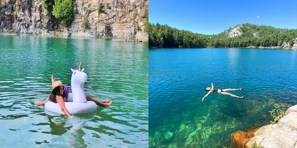 6 Secret Swimming Holes In Ontario That Are Actually A Blue-Water Paradise