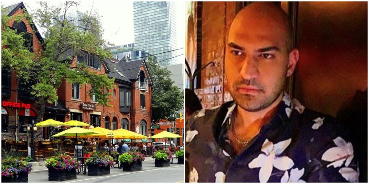 A Toronto Man Spiked A Woman's Drink At The Bar After Meeting Off A Dating App (VIDEO)
