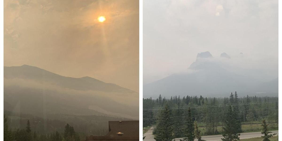 Canada Is Being Smothered By Wildfire Smoke & There Are Alerts In Place Across The Country