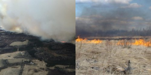 A Massive Wildfire Near Edmonton Has Officials Telling People To Evacuate Immediately