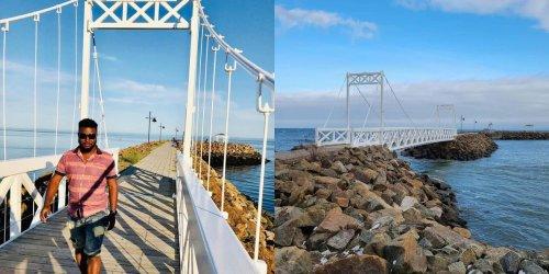Ce petit pont au Québec est l'endroit sur l'eau où tu dois aller avec ta personne préférée