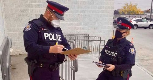 Toronto Police Respond To Ontario's New COVID-19 Enforcement Rules About Random Stops