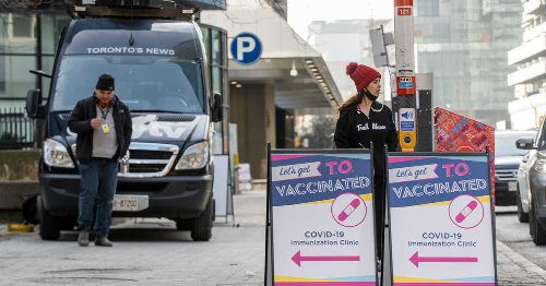 Pop-up Vaccine Clinics For 18+ Are Trying To Keep Their Location On The DL In Toronto