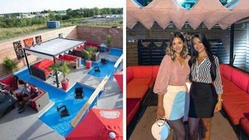 Ce resto sur la Rive-Nord de Montréal a une terrasse avec une piscine où tremper tes pieds