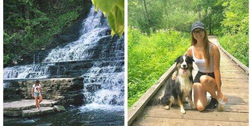 Ce parc à Québec cache une cascade de 10m de haut - cover