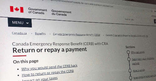 Canadians Have Now Made Over 830,000 CERB & CESB Repayments To The CRA