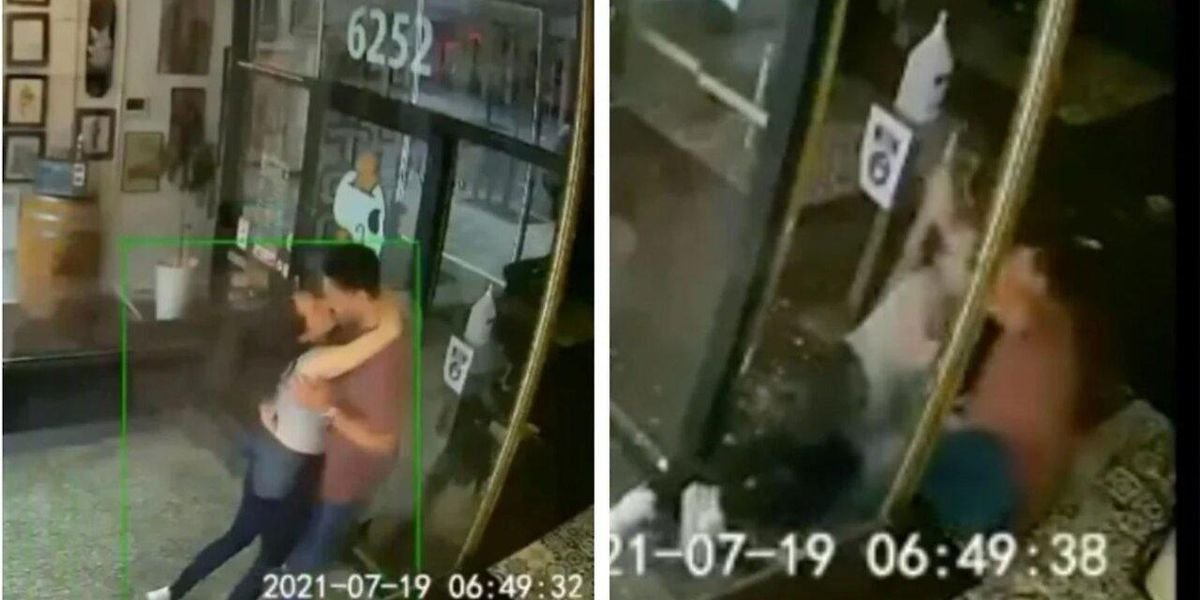 This Couple Made Out So Hard They Smashed Through A Montreal Shop Window (VIDEO)