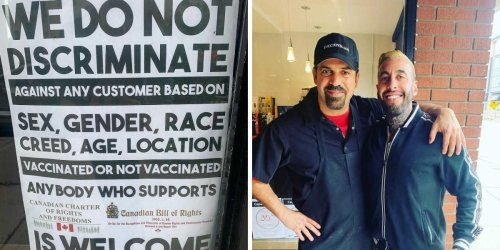 Oakville Resto Risks Hefty Fines & Welcomes Unvaxxed Diners Without A Vaccine Passport