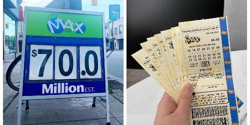 The $70 Million Lotto Max Jackpot Saga Is Finally Over & There Are Two Winning Tickets