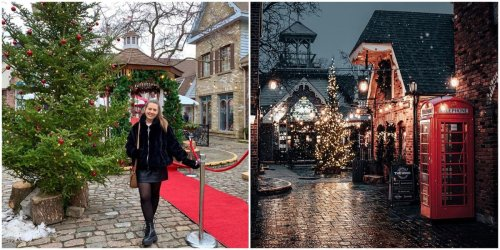 You Can Visit A Tiny European Village Near Toronto That Looks Like A Christmas Postcard