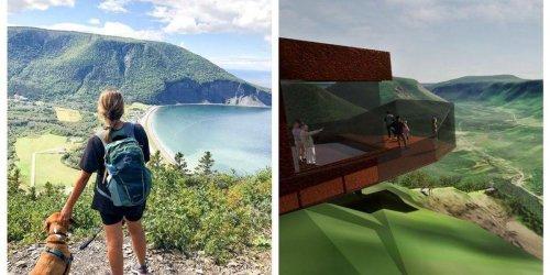 Ce mont en Gaspésie aura un immense belvédère et voici à quoi ça va ressembler (Photos)