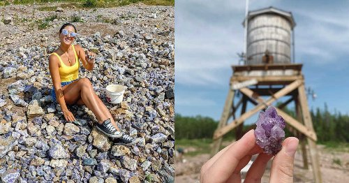 You Can Pick Your Own Purple Gems At Ontario's Stunning Amethyst Mine This Spring