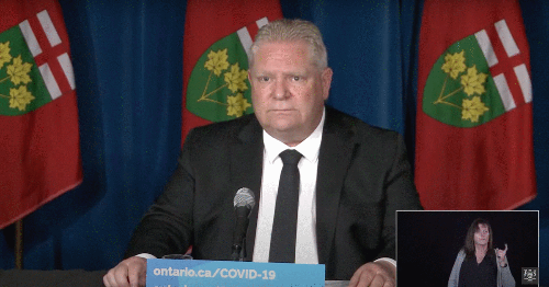 Doug Ford Is Now Reversing Some Aspects Of Ontario's Stay-At-Home Order
