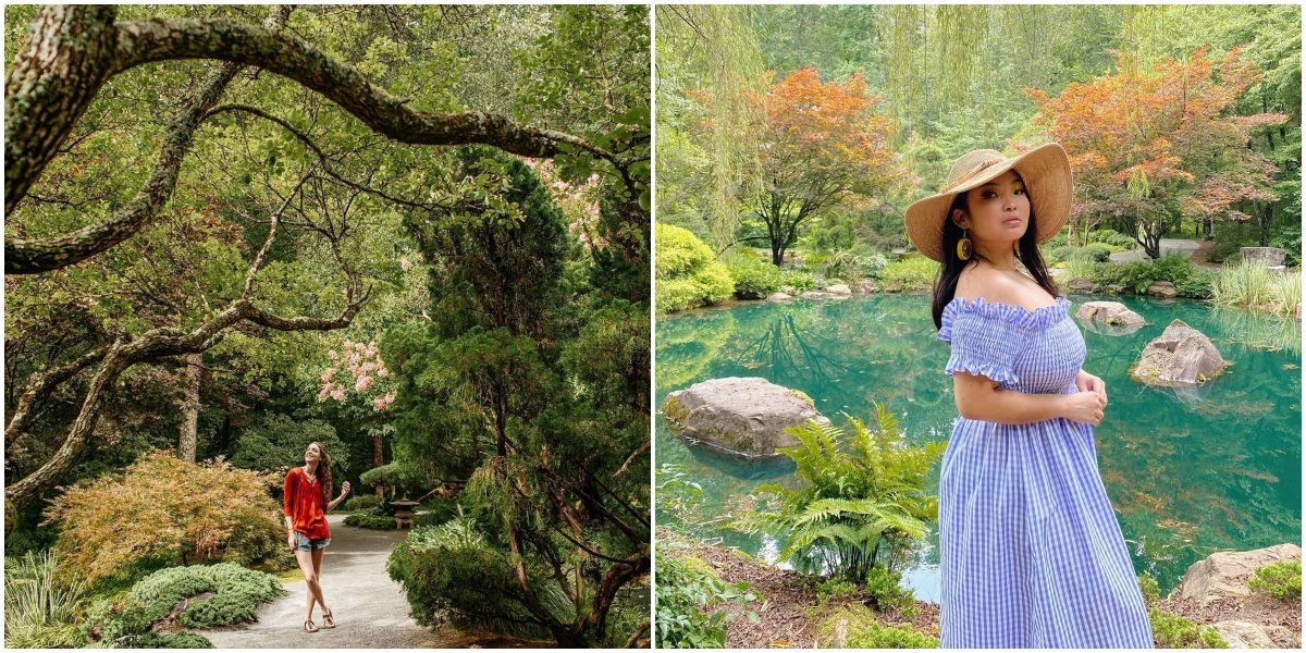 You'll Feel Like You Fell Down The Rabbit Hole At This Magical Georgia Garden