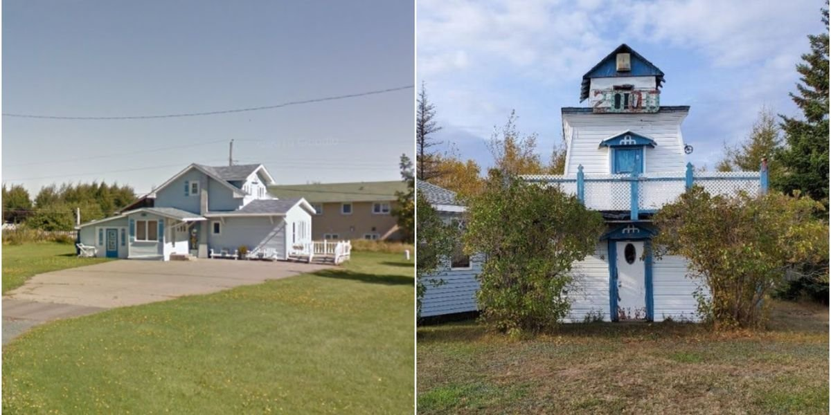 $70K Beach House In New Brunswick Has An Actual Lighthouse In The Backyard