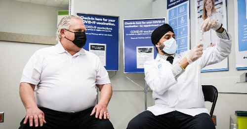 Doug Ford Just Got A COVID-19 Vaccine Dose & Then Immediately Went Shopping