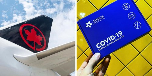 Air Canada Is Now Offering DIY COVID-19 Tests That Can Be Packed In Your Suitcase