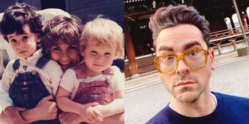 Dan Levy Got Roasted By His Mom On Mother's Day & It's So Moira Rose