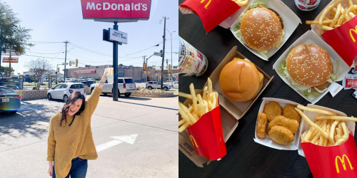 McDonald's Canada Is Offering McDouble Burgers For Just $1 Today