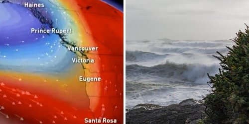 A 'Weather Bomb' Is Hitting BC & Wind Warnings Are In Effect For Hurricane-Force Gusts