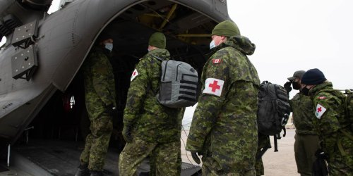Canada Is Sending The Army & The Red Cross Into Ontario To Help Fight The Third Wave