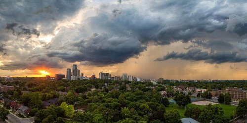 Parts Of Ontario Are About To Get Slammed With A Month's Worth Of Rain In Only 7 Days