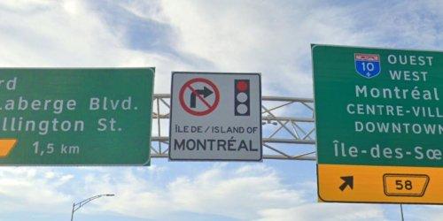 Voici pourquoi il est interdit de tourner à droite au feu rouge à Montréal