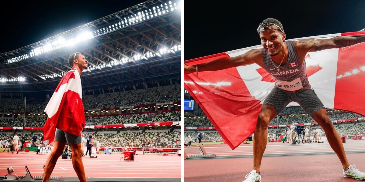 Canadians Are Losing It Over Andre De Grasse's Gold Medal Win & Markham Is Fired Up RN