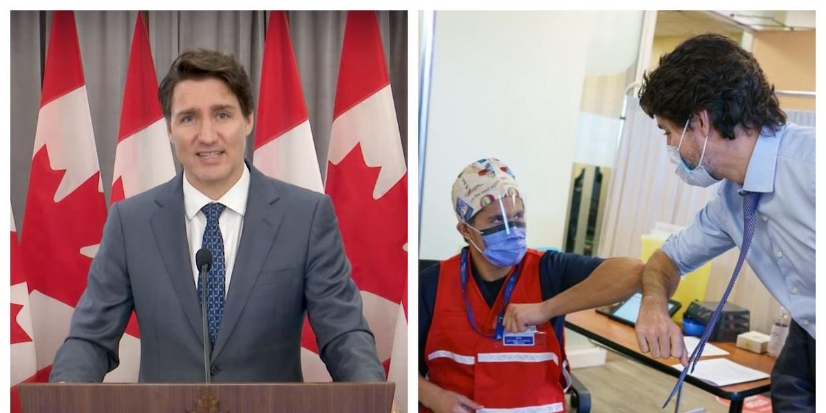 Trudeau Says The Feds Won't Make COVID-19 Vaccines Mandatory For Anyone In Canada