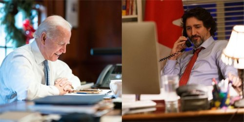 Here's What Justin Trudeau & Joe Biden Talked About During Their First Call As Leaders