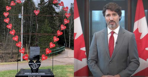 Trudeau Has Spoken Out On The First Anniversary Of The Nova Scotia Mass Shooting