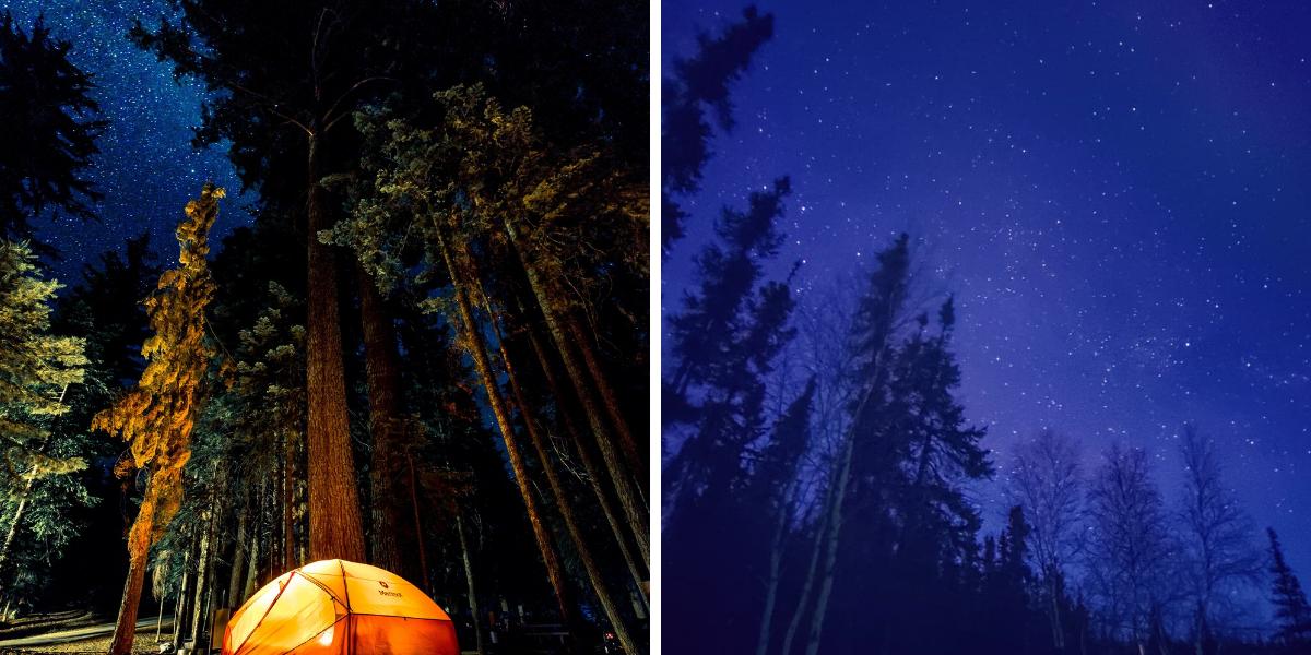 9 spots féeriques où admirer la pluie d'étoiles filantes à Montréal et environs ce mois-ci