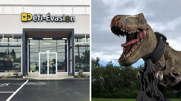 Ce nouveau jeu d'évasion extérieur à Québec est digne de « Jurassic Park »