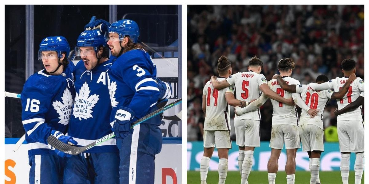 People In Toronto Are Drawing Comparisons Between England's Soccer Team & The Maple Leafs