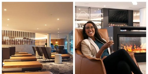 WestJet Has A Super Fancy Lounge At The Calgary Airport & Here's How You Get In