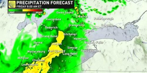 A Nasty Storm Is Making Its Way To Toronto & Could Destroy Your Friday Night Plans