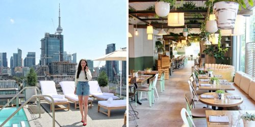 Toronto's New Hotel Has Resort Vibes With A Rooftop Oasis & Here's A First Look (PHOTOS)